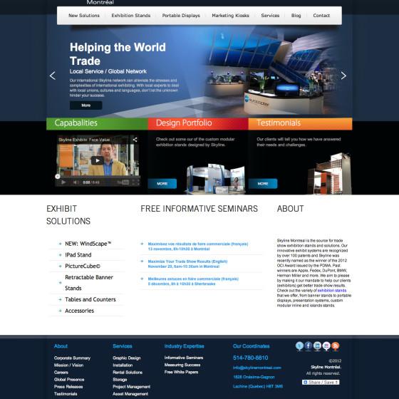 Skyline Montreal Web Design & Development